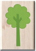 Hampton Arts - Studio G - Wood Mounted Stamp - Tree