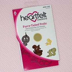 Heartfelt Creations - Cutting Die - Oakberry Lane Collection - Furry-Tailed Frolic Die