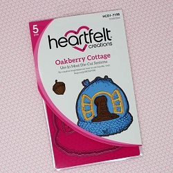 Heartfelt Creations - Cutting Die - Oakberry Lane Collection - Oakberry Cottage Die