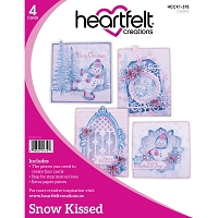 Heartfelt Creations - Snow Kissed Card Instruction Kit (does not include stamps/dies)
