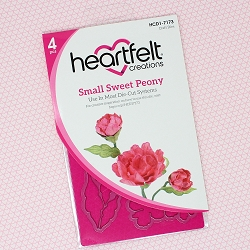 Heartfelt Creations - Cutting Die - Sweet Peony Collection - Small Sweet Peony Die