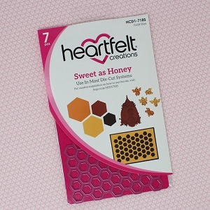 Heartfelt Creations - Cutting Die - Sweet as Honey Collection - Sweet as Honey Die