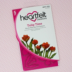 Heartfelt Creations - Cutting Die - Tulip Time Collection - Tulip Time Die