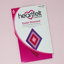 Heartfelt Creations - Cutting Die - Eyelet Diamond Die