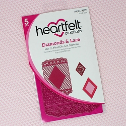 Heartfelt Creations - Cutting Die - Diamonds & Lace Die