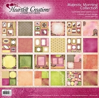Heartfelt Creations - Majestic Morning Collection - 12x12 Pad (24 Sheets) - Majestic Morning