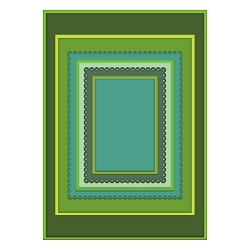 Heartfelt Creations - Frame A Card Die - Eyelet Rectangle & Basics Die