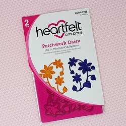 Heartfelt Creations - Cutting Die - Patchwork Daisy Collection - Patchwork Daisy Die