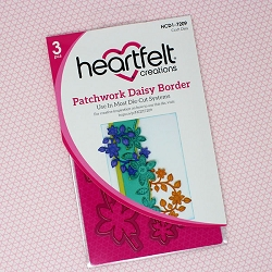 Heartfelt Creations - Cutting Die - Patchwork Daisy Collection - Patchwork Daisy Border Die
