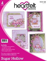 Heartfelt Creations - Sugar Hollow Card Instruction Kit (does not include stamps)