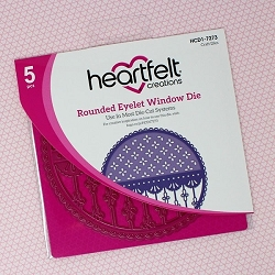 Heartfelt Creations - Cutting Die - Rounded Eyelet Window Die