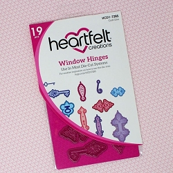 Heartfelt Creations - Cutting Die - Window Hinges Die