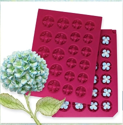 Heartfelt Creations - Flower Shaping Mold - 3D Hydrangea Cottage Garden Shaping Mold