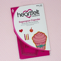 Heartfelt Creations - Cutting Die - Sugarspun Collection - Sugarspun Cupcake Die