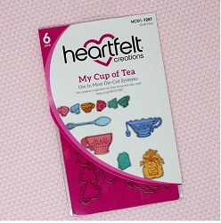Heartfelt Creations - Tea Time Collection - My Cup of Tea Die