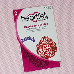 Heartfelt Creations - Cutting Die - Cherry Blossom Retreat Collection - Daydreams Bridge Die