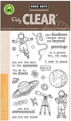 Hero Arts - Clear Stamp - Astronomical