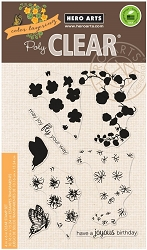 Hero Arts - Clear Stamp - Color Layering Nasturtium