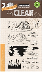 Hero Arts - Clear Stamp - Color Layering Swan
