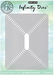 Hero Arts - Fancy Die - Nesting Rounded Rectangles Infinity