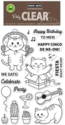 Hero Arts - Clear Stamp - Cinco de Meow