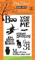 Hero Arts - Clear Stamp - You Scare Me
