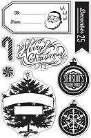 Hero Arts - Clear Stamp - Merry Christmas