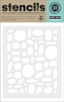 Hero Arts - Stencil - Stone Circle Pattern