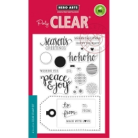 Hero Arts - Clear Stamp - Peace & Joy