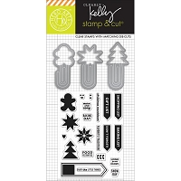 Hero Arts - Stamp & Cut - Holiday Clips by Clearly Kelly :)