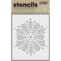 Hero Arts - Stencil - Star Snowflake