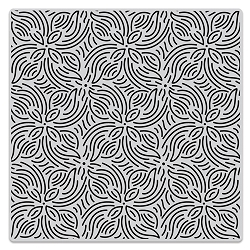 Hero Arts - Cling Rubber Stamp - Repeating Flower Bold Prints