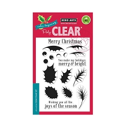 Hero Arts - Clear Stamp - Color Layering Holly