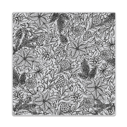Hero Arts - Cling Rubber Stamp - Holiday Foliage Bold Prints