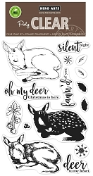 Hero Arts - Clear Stamp - Color Layering Fawn