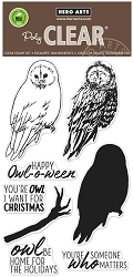 Hero Arts - Clear Stamp - Color Layering Owl