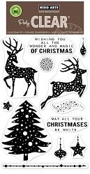 Hero Arts - Clear Stamp - Wonder and Magic of Christmas