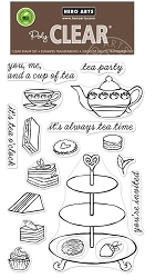 Hero Arts - Clear Stamp - Tea Time