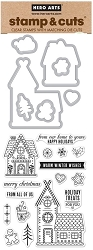 Hero Arts - Stamp & Cut - Gingerbread House Stamp & Cut