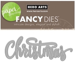 Hero Arts - Fancy Die - Christmas Word