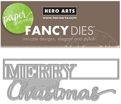 Hero Arts - Fancy Die - Cut-Out Christmas