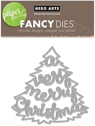 Hero Arts - Fancy Die - Very Merry Tree