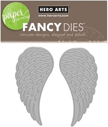Hero Arts - Fancy Die - Angel Wings