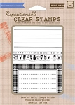 Hero Arts-Clear Stamp Set(for Basic Grey)-Oxford-Fun Labels :)