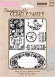 Hero Arts-Clear Stamp Set(for Basic Grey)-Out of Print-Sweet One :)
