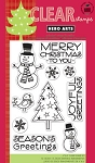 Hero Arts-Clear Stamp-Snowman Christmas :)