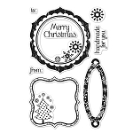 Hero Arts Clear Stamp Set for Basic Grey-Nordic Holiday-Nordic Holiday :)