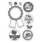 Hero Arts Clear Stamp (for Basic Grey)-Picadilly-you're the Best