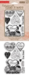 Hero Arts Clear Stamp Set (for Basic Grey) - Kissing Booth - Friend You're The Best :)