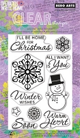 Hero Arts - Clear Stamp - Winter Wishes